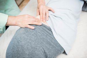 まなべ整膚療院 妊婦 臨月